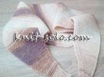 Вязаный классический бактус - knit-solo.com