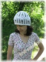 Летняя женская шапочка крючком