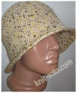 Женская шляпка крючком - knit-solo.com