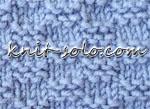 Платочная путанка спицами - knit-solo.com