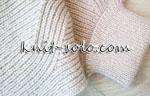 Полупатентная резинка - knit-solo.com