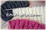 Простой рельефный узор для шапки, шарфа, снуда - knit-solo.com