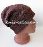 Шапка спицами - knit-solo.com