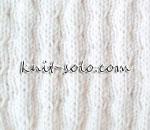 Очень простой узор спицами - knit-solo.com