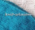 узор спицами для мужских изделий - knit-solo.com