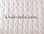 Вафельный узор спицами - knit-solo.com