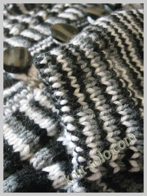 Кофточка спицами для сына - knit-solo.com
