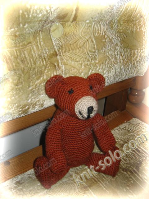Игрушка крючком - knit-solo.com