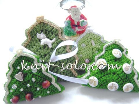 Новогодний сувенир своими руками - knit-solo.com