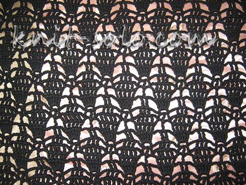 Вязаный летний кардиган крючком - knit-solo.com
