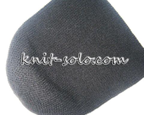шапка платочной вязкой - knit-solo.com