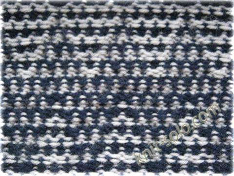 вязания ленивым жаккардом: