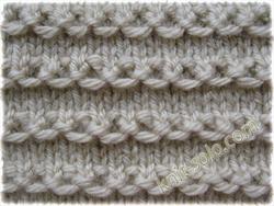 Узор спицами - knit-solo.com
