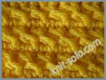 Декоративный узор крючком - knit-solo.com